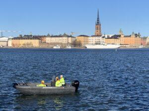 Pioner Multi – för brobygge i Stockholm